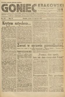 Goniec Krakowski. 1921, nr217