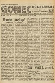 Goniec Krakowski. 1921, nr219