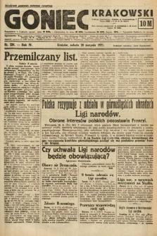 Goniec Krakowski. 1921, nr224