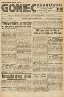 Goniec Krakowski. 1921, nr227