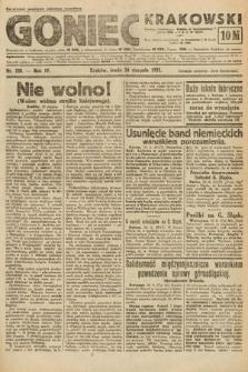 Goniec Krakowski. 1921, nr228