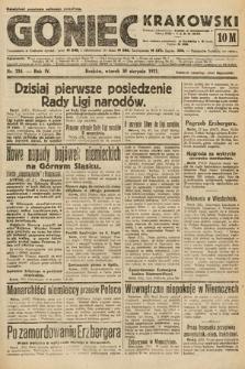 Goniec Krakowski. 1921, nr234
