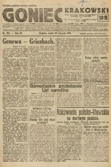 Goniec Krakowski. 1921, nr235