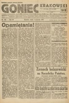 Goniec Krakowski. 1921, nr242