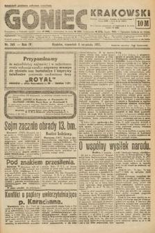 Goniec Krakowski. 1921, nr243