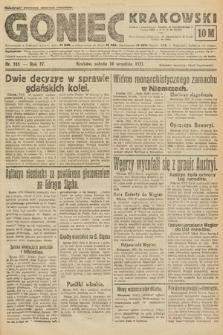 Goniec Krakowski. 1921, nr245