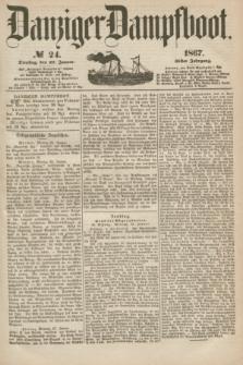 Danziger Dampfboot. Jg.38, № 24 (29 Januar 1867)