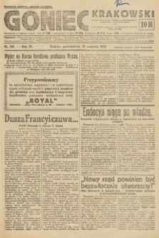 Goniec Krakowski. 1921, nr247