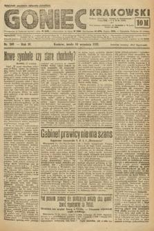Goniec Krakowski. 1921, nr249