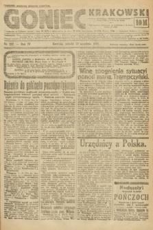 Goniec Krakowski. 1921, nr252