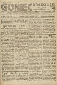 Goniec Krakowski. 1921, nr258