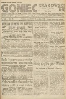 Goniec Krakowski. 1921, nr261
