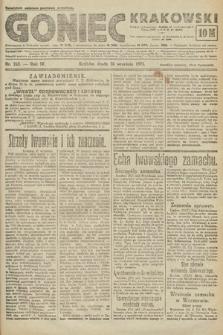 Goniec Krakowski. 1921, nr263