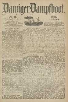 Danziger Dampfboot. Jg.40, № 11 (14 Januar 1869)