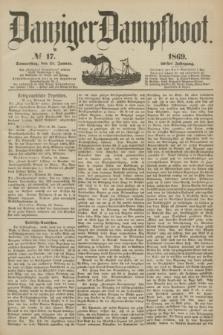 Danziger Dampfboot. Jg.40, № 17 (21 Januar 1869)