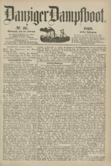 Danziger Dampfboot. Jg.40, № 46 (24 Februar 1869)