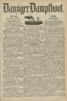Danziger Dampfboot. Jg.40, № 50 (1 März 1869)