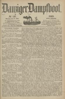 Danziger Dampfboot. Jg.40, № 117 (24 Mai 1869)
