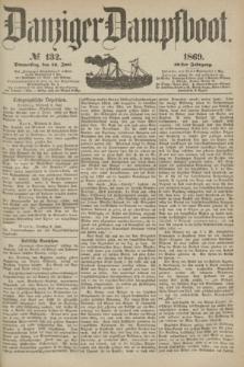 Danziger Dampfboot. Jg.40, № 132 (10 Juni 1869)