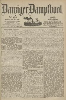 Danziger Dampfboot. Jg.40, № 135 (14 Juni 1869)