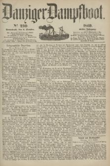 Danziger Dampfboot. Jg.40, № 230 (2 October 1869)