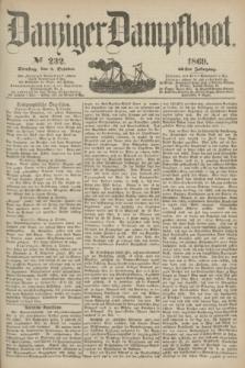 Danziger Dampfboot. Jg.40, № 232 (5 October 1869)
