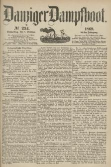 Danziger Dampfboot. Jg.40, № 234 (7 October 1869)
