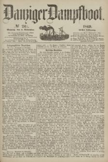Danziger Dampfboot. Jg.40, № 261 (8 November 1869)