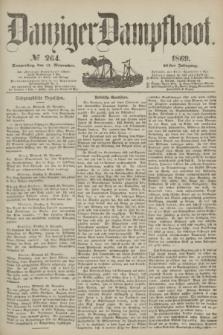 Danziger Dampfboot. Jg.40, № 264 (11 November 1869)