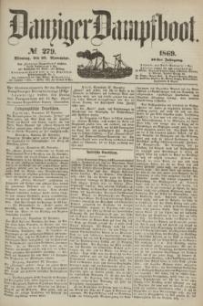 Danziger Dampfboot. Jg.40, № 279 (29 November 1869)
