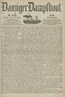 Danziger Dampfboot. Jg.40, № 280 (30 November 1869)