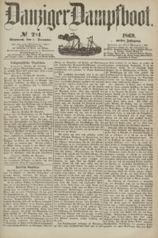 Danziger Dampfboot. Jg.40, № 281 (1 December 1869)