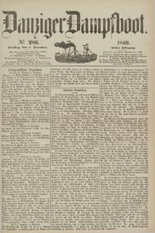 Danziger Dampfboot. Jg.40, № 286 (7 December 1869)
