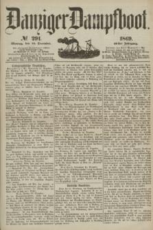 Danziger Dampfboot. Jg.40, № 291 (13 December 1869)