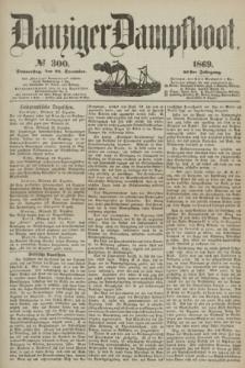 Danziger Dampfboot. Jg.40, № 300 (23 December 1869)