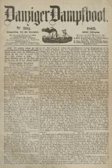 Danziger Dampfboot. Jg.40, № 305 (30 December 1869)