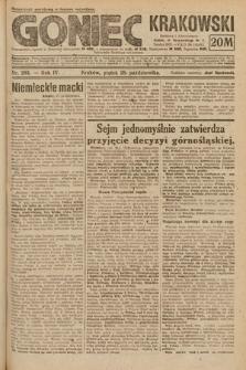 Goniec Krakowski. 1921, nr293
