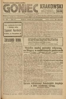 Goniec Krakowski. 1921, nr294