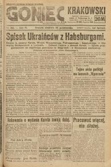 Goniec Krakowski. 1921, nr295