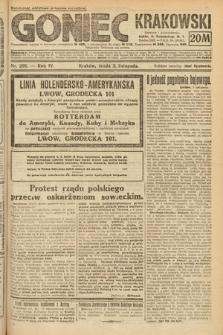 Goniec Krakowski. 1921, nr298