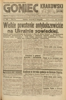 Goniec Krakowski. 1921, nr299