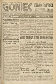 Goniec Krakowski. 1921, nr306