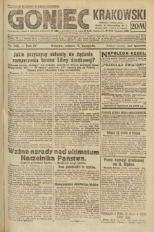 Goniec Krakowski. 1921, nr308