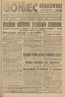 Goniec Krakowski. 1921, nr310