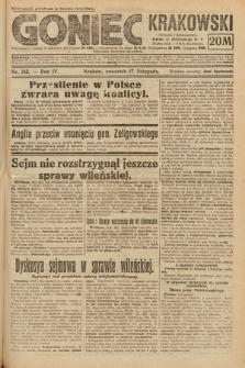 Goniec Krakowski. 1921, nr313
