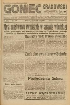 Goniec Krakowski. 1921, nr314