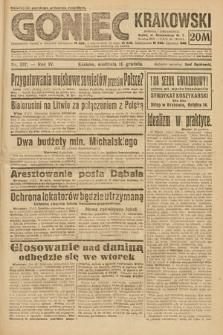 Goniec Krakowski. 1921, nr337