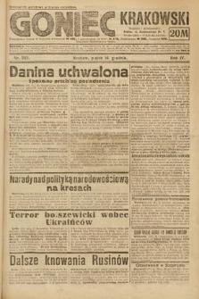 Goniec Krakowski. 1921, nr342
