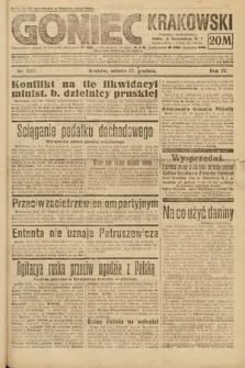 Goniec Krakowski. 1921, nr343