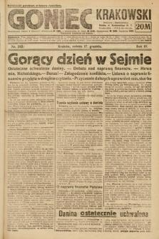 Goniec Krakowski : bezpartyjny dziennik popularny. 1921, nr344